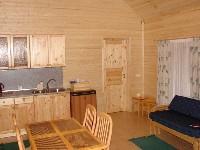 Коттедж 7х5, гостиная - кухня