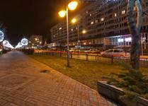 Гостиница Беларусь, фасад