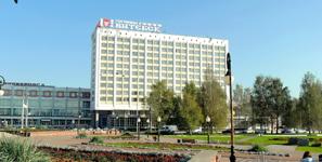 Гостиница Витебск, фасад