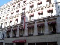 Отель Fiat, фасад здания