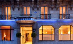 Гостиница Gerando, фасад