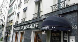Гостиница Residence de Bruxelles, внешний вид
