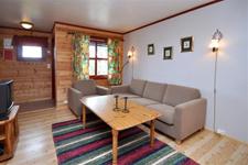 апартаменты Fjellblikk, гостиная