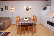 апартаменты Fjellblikk, кухня-столовая