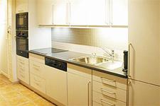 апартаменты Fjellheim, кухня