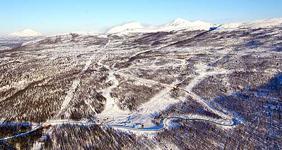 Горнолыжный курорт Снеговик в Норвегии