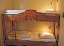апартаменты Tegefjall, спальня