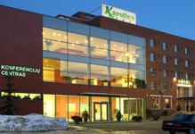 отель Karolina в Вильнюсе, внешний вид