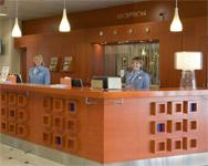 отель Rantasipi airport, рецепция