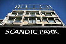 Отель Scandic Park, фасад