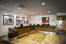 Отель Scandic Park, рецепция в холле
