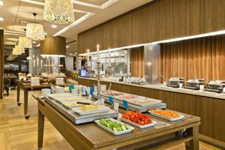 Отель Scandic Park, ресторан