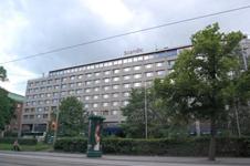 отель Scandic Continental, фасад здания