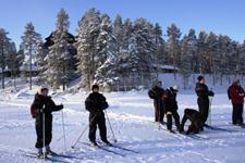 Отель Калевала, лыжные прогулки