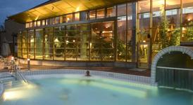 Спа отель Иматран Кюлпюля, уличный бассейн