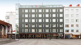 Гостиница Sokos Arina, фасад здания