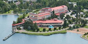 Отель Naantali SPA, территория