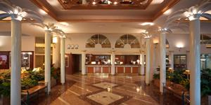 Отель Naantali SPA, холл и рецепция