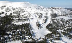 склоны на горнолыжном курорте Pyha
