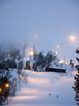 Вечернее катание в Пюхя