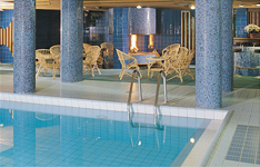 отель Rantasipi Pohjanhovi, бар у бассейна