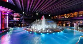 Аквапарк Saimaa HC, играющий фонтан