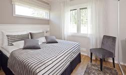 Saimaa Holiday Club, спальня в коттедже