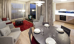Двуспальные Villas, гостиная