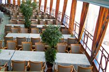гостиница Sokos Eden, панорамный ресторан