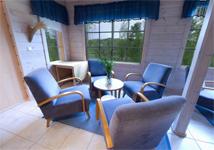 отель - аквапарк Vesileppis, Cabin Livingroom