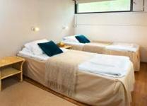 Гостиничный комплекс Summassaari, спальня в коттедже