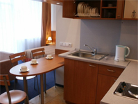 Санаторий Egle, кухня