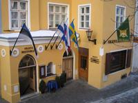Отель Olevi residence, фасад