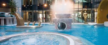 Гостиница Tallink Spa & Conference, spa и бассейн