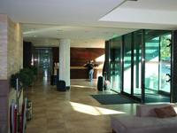 Отель Панорама, рецепция в холле