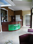 Отель Tomas, рецепция