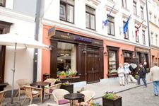 Гостиница Kolonna, фасад