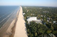 Отель Baltic Beach, территория