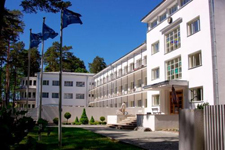 Отель-санаторий Narva joesuu Spa, внешний вид