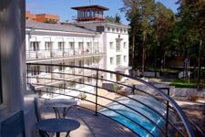 Отель-санаторий Narva joesuu Spa, двор