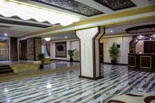 гостиница Беркат, рецепция в холле