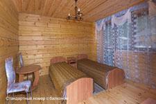 Гостиница Байкалика, стандартный номер с балконом