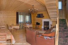 Гостиница Байкалика, гостиная и столовая