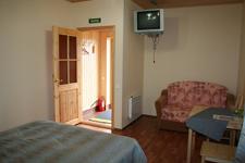 ТСК Алекка, номер с двуспальной кроватью и дополнительным местом