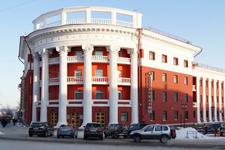 Гостиница Северная, главный вход