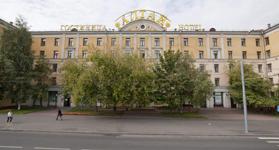 Гостиница Алтай, фасад