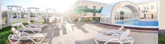 Гранд Петергоф, уличный бассейн