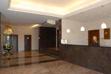 Отель Виктория, рецепция