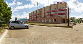 Гостиница Витязь, территория
