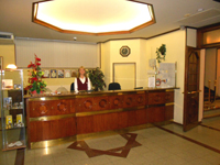 гостиница Выборг, рецепция